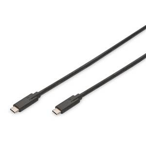 Digitus USB 3.1 Type-C Gen 2 (M) to USB Type-C (M) Cable 1.0m