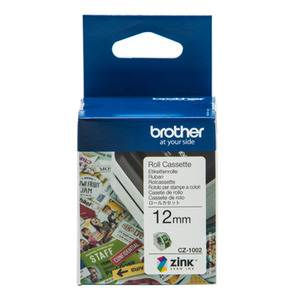 Brother CZ-1002 12mm Printable Roll Cassette