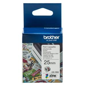 Brother CZ-1004 25mm Printable Roll Cassette