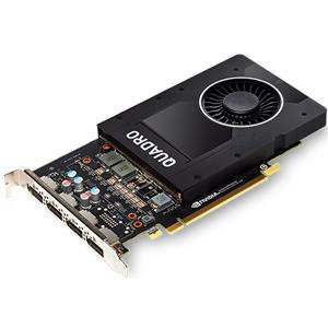 PNY NVIDIA Quadro VCQP2000-PB 5GB DDR5 PCIE Graphics Card 4*DP