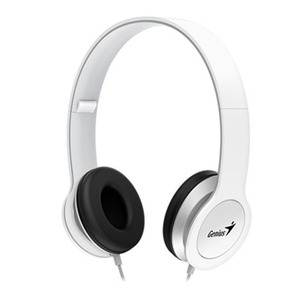 Genius HS-M430 Mobile Headphones with In-Line Microphone White