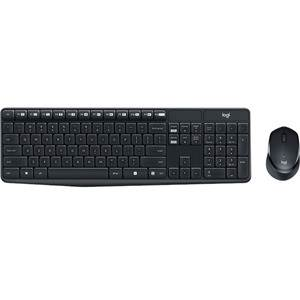 Logitech MK315 Quiet Keyboard and Mouse - Wireless