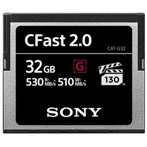 Sony CATG32 32GB G Series CFast 2.0 Memory Card