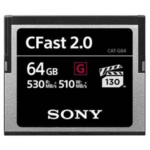 Sony CATG64 64GB G Series CFast 2.0 Memory Card