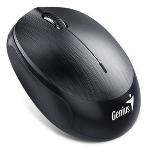 Genius NX-9000BT Rechargeable Bluetooth Anywhere Mouse - Iron Grey