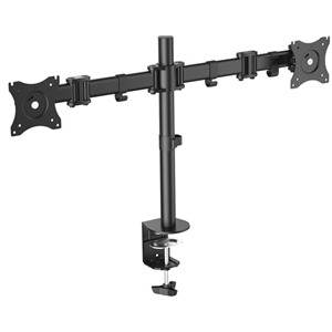 """Digitus 15-27"""" Dual Monitor Stand with Clamp Base"""