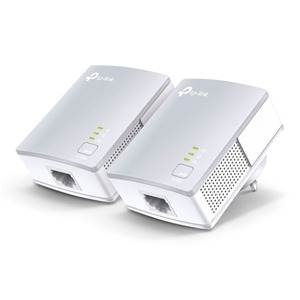 TP-Link PA4010 KIT 600Mbps Powerline Kit Ethernet Adapter Twin Pack