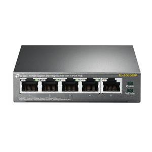 TP-Link SG1005P 5 Port Gigabit Switch with 4x PoE Ports