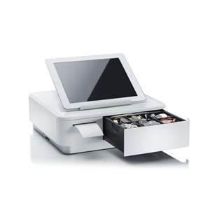Star mPOP Mobile Point of Purchase Solution with B/tooth Printer White