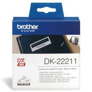 Brother DK22211 Continuous Length Paper Label Tape 29mm x 15.24m
