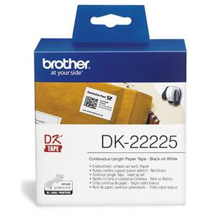 Brother DK22225 Continuous Paper Label 38mm x 30.48m