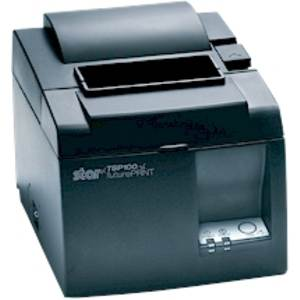 Star TSP143III Thermal Receipt Printer Auto Cutter LAN Black