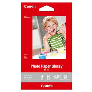 Canon GP701 4x6 Glossy Photo Paper 210GSM 50 Sheets