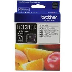 Brother LC131 Black Ink Cartridge (300 Pages)
