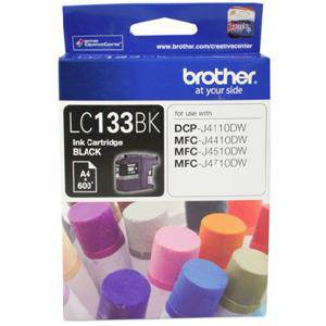 Brother LC133 Black Ink Cartridge (600 Pages)