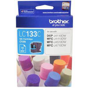 Brother LC133 Cyan Ink Cartridge (600 Pages)