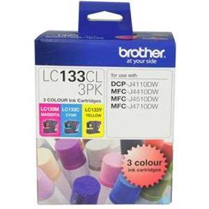 Brother LC133 Value Pack (3 Pack)