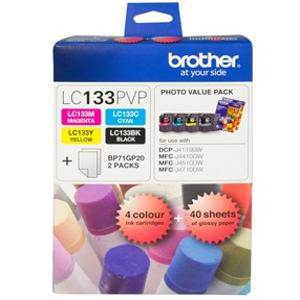 Brother LC133 Value Pack (4 Pack)