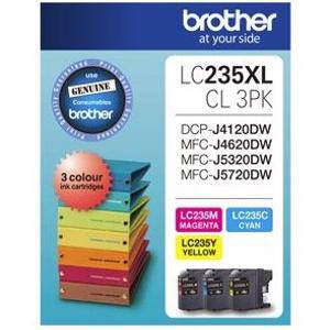 Brother LC235XL Value Pack (3 Pack)