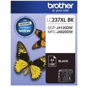 Brother LC237XL Black Ink Cartridge (1200 Pages)
