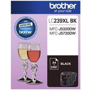 Brother LC239XL Black Ink Cartridge (2400 Pages)
