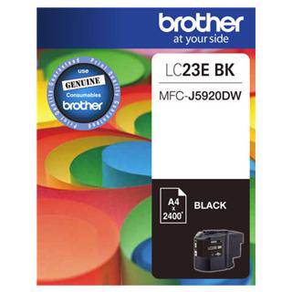 Brother LC23E Black Ink Cartridge (2400 Pages)