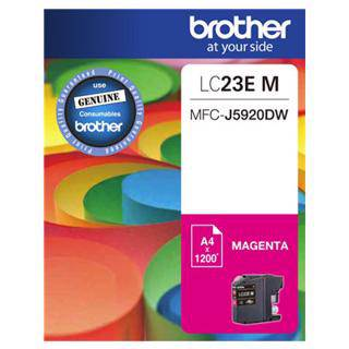 Brother LC23E Magenta Ink Cartridge (1200 Pages)