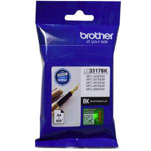 Brother LC3317 Black Ink Cartridge (550 Pages)