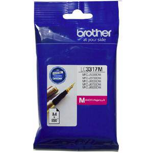 Brother LC3317 Magenta Ink Cartridge (550 Pages)