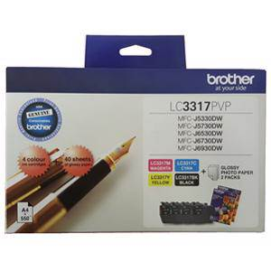 Brother LC3317 Value Pack (3 Pack)
