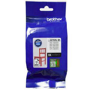 Brother LC3319XL Black Ink Cartridge (3000 Pages)