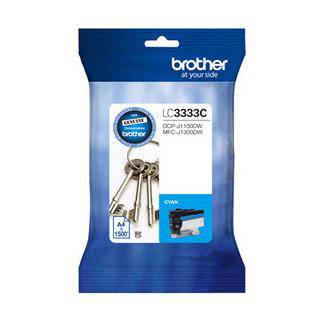 Brother LC3333 Cyan Ink Cartridge (1500 Pages)