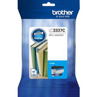 Brother LC3337 Cyan Ink Cartridge (1500 Pages)