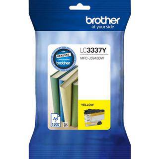 Brother LC3337 Yellow Ink Cartridge (1500 Pages)