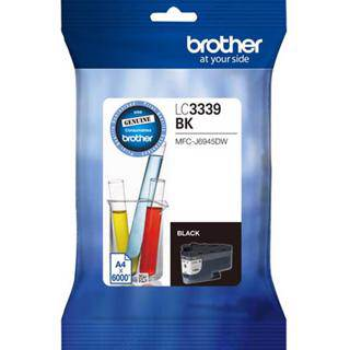 Brother LC3339XL Black Ink Cartridge (6000 Pages)