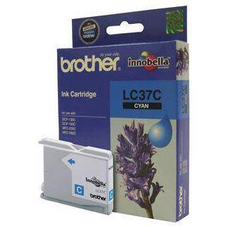 Brother LC37 Cyan Ink Cartridge (300 Pages)
