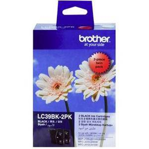Brother LC39 Black Twin Pack (2 Pack)