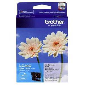 Brother LC39 Cyan Ink Cartridge (260 Pages)
