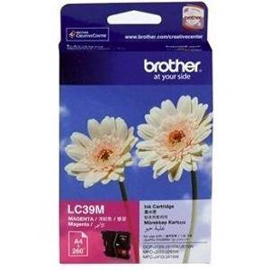Brother LC39 Magenta Ink Cartridge (260 Pages)