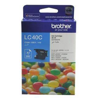 Brother LC40 Cyan Ink Cartridge (300 Pages)