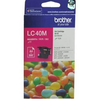 Brother LC40 Magenta Ink Cartridge (300 Pages)