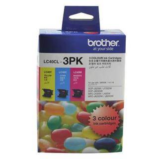 Brother LC40 Value Pack (Triple Pack)