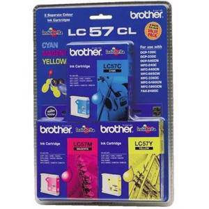 Brother LC57 Value Pack (3 Pack )