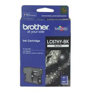 Brother LC67XL Black Ink Cartridge (900 Pages)