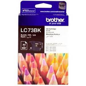 Brother LC73 Black Ink Cartridge (600 Pages)