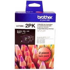 Brother LC73 Black Twin Pack (2 Pack)