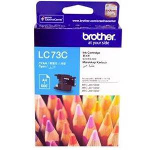 Brother LC73 Cyan Ink Cartridge (600 Pages)