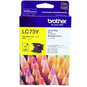 Brother LC73 Yellow Ink Cartridge (600 Pages)