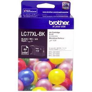 Brother LC77XL Black Ink Cartridge (2400 Pages)
