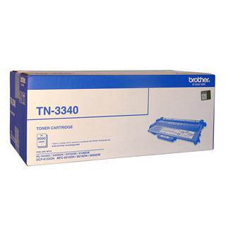 Brother TN-3340 Black Toner Cartridge (8000 Pages)